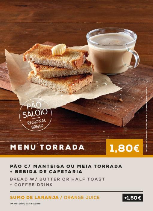 MENU TORRADA. SOL Restaurantes - Grupo Ibersol