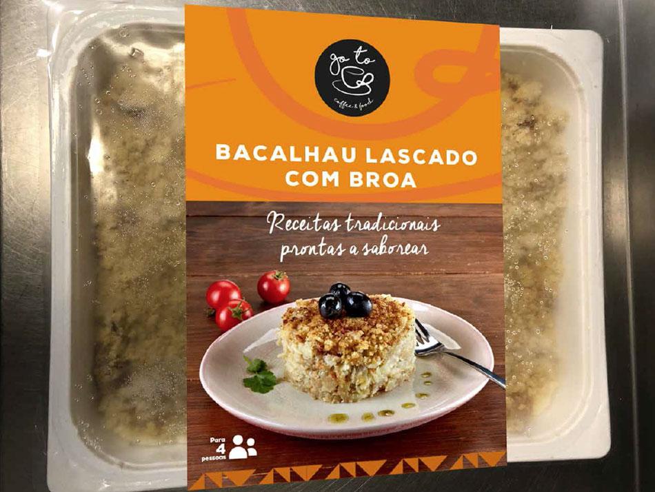 BACALHAU LASCADO COM BROA, Take Away. SOL Restaurantes