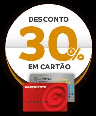 Desconto 30% Cartão Continente. SOL Restaurantes