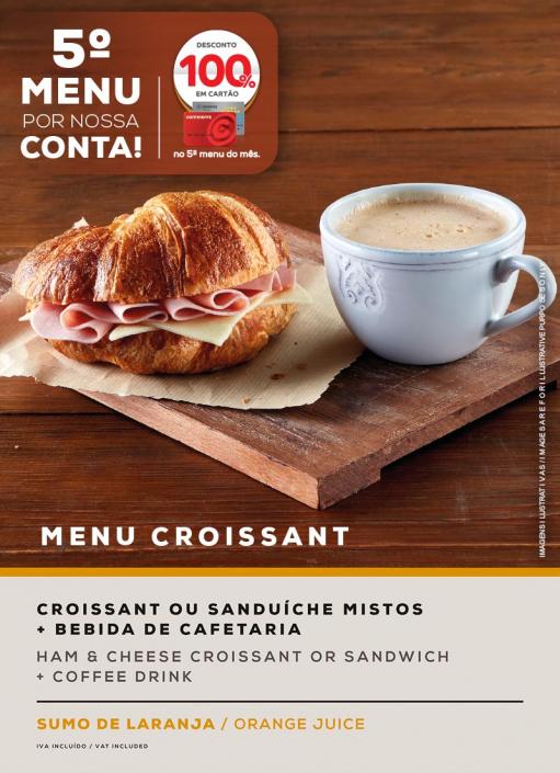 MENU CROISSANT. SOL Restaurantes - Grupo Ibersol