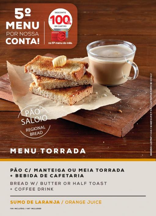 MENU TORRADA. SOL Restaurantes